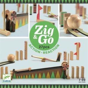 CONSTRUCCIÓN ZIG & GO - 27 PIEZAS