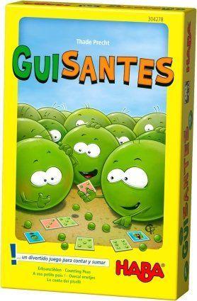 GUISANTES. UN DIVERTIDO JUEGO PARA CONTAR Y SUMAR