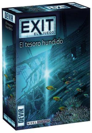 EXIT EL JUEGO. EL TESORO HUNDIDO. PRINCIPIANTE. A PARTIR DE 10 AÑOS