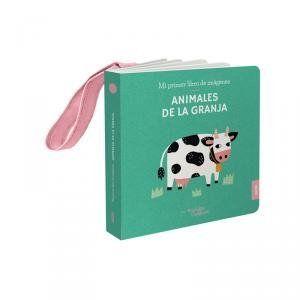 LIBRO COLGADOR CUNA. ANIMALES GRANJA