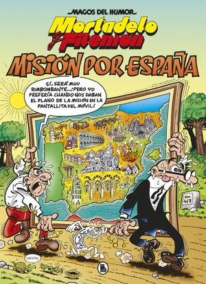 MAGOS HUMOR MORTADELO 208 MISION ESPAÑA