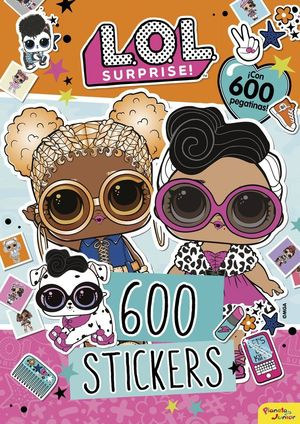 L.O.L. SURPRISE! 600 STICKERS