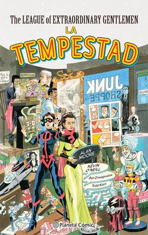 THE LEAGUE OF EXTRAORDINARY GENTLEMEN THE TEMPEST