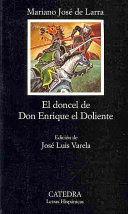 EL DONCEL DE DON ENRIQUE EL DOLIENTE