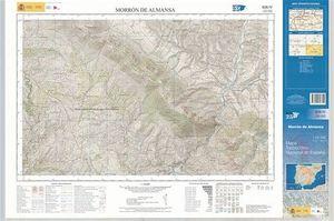 MAPA TOPOGRÁFICO NACIONAL DE ESPAÑA 1:25.000 BAIDES 461-III