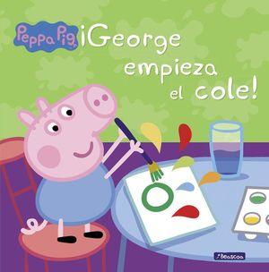 ¡GEORGE EMPIEZA EL COLE!