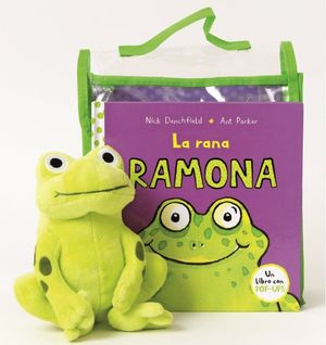 LA RANA RAMONA + PELUCHE