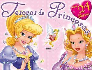 TESOROS DE PRINCESAS CON 24 LIBROS