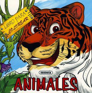 LIBROS PARA COLOREAR. ANIMALES
