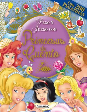 PEGO Y JUEGO CON PRINCESAS DE CUENTO