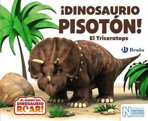 DINOSAURIO PISOTÓN TRICERATOPS