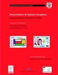 NOMENCLATURA DE QUÍMICA INORGÁNICA : RECOMENDACIONES DE LA IUPAC DE 2005