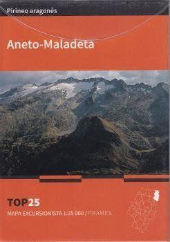 TOP 25. MAPA EXCURSIONISTA 1:25.000 ANETO-MADALETA