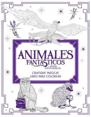 ANIMALES FANTASTICOS.CRIATURAS MAGICAS PARA COLOREAR