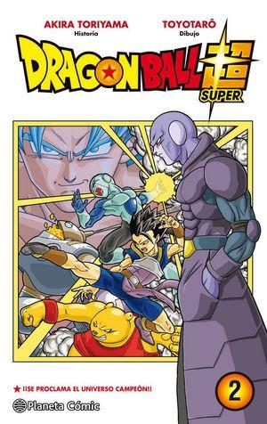 DRAGON BALL SUPER Nº02