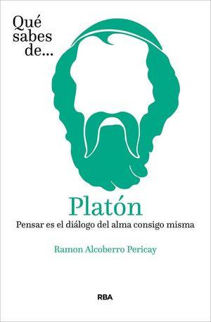 QUE SABES DE PLATON