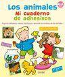 LOS ANIMALES. MI CUADERNO DE ADHESIVOS. 4-6 AÑOS