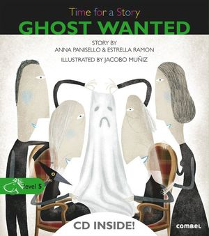 TIME FOR A STORY. GHOST WANTED
