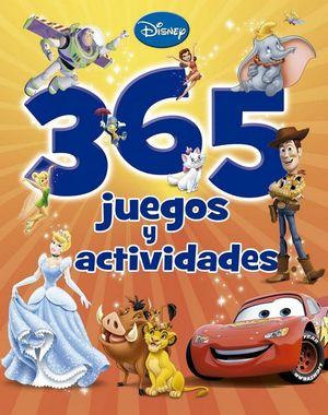 DISNEY. 365 JUEGOS Y ACTIVIDAD
